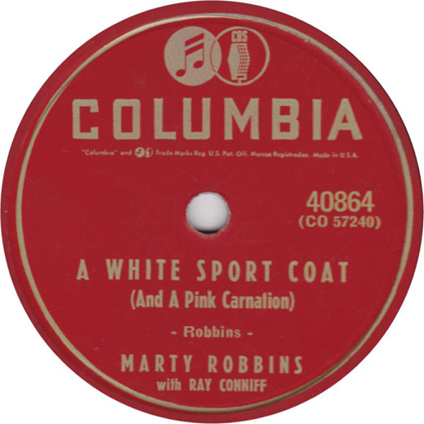 Marty Robbins A White Sport Coat