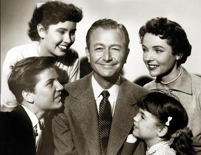 Father Knows Best TV show cast