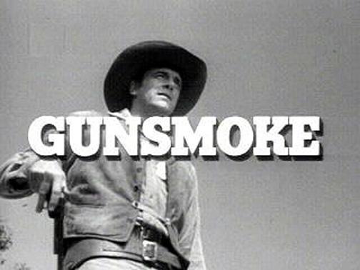 James Arness in Gunsmoke