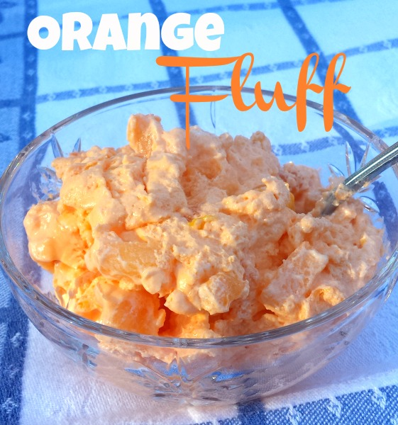 Retro Recipe of Orange Fluff Jell-O Salad