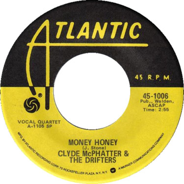 Clyde McPhatter and The Drifters Money Honey