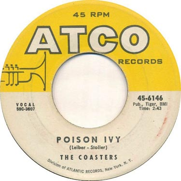 The Coasters Poison Ivy