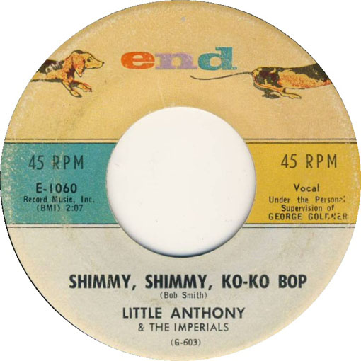 Little Anthony and The Imperials Shimm, Shimmy, Ko-Ko Bop