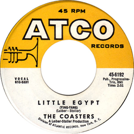 Little Egypt by The Coasters