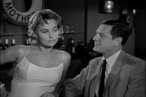 Peter Gunn and Lola Albright at Mother's