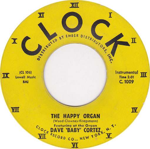 The Happy Organ by Dave Baby Cortez