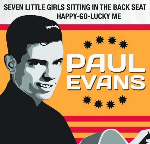 Seven Little Girls Sitting in the Back Seat by Paul Evans