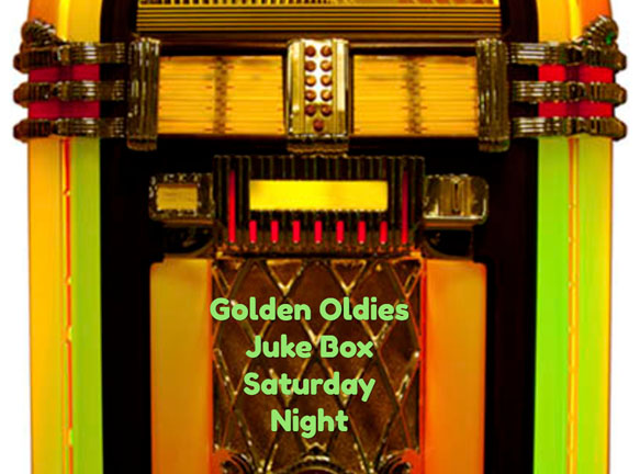 Golden Oldies Juke Box Saturday Night Logo