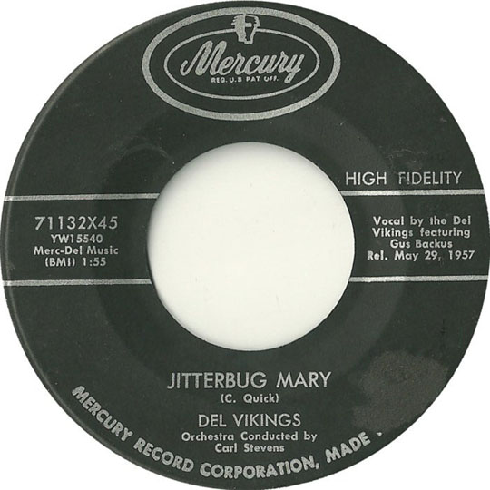 Jitterbug Mary by The Del Vikings