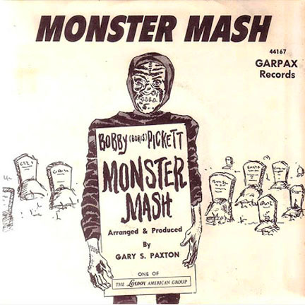 The Monster Mash by Bobby Boris Pickett and The Crypt Kickers
