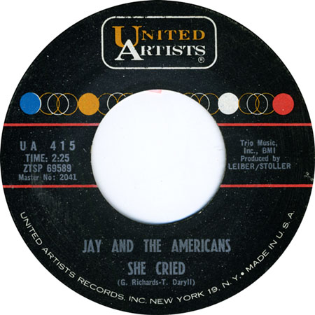 Jay and The Americans She Cried