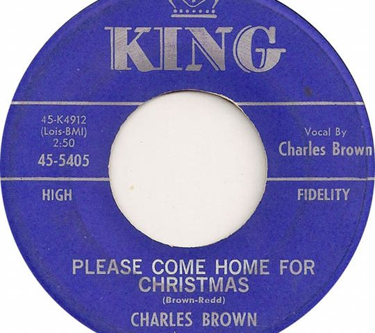 Charles Brown Please Come Home for Christmas