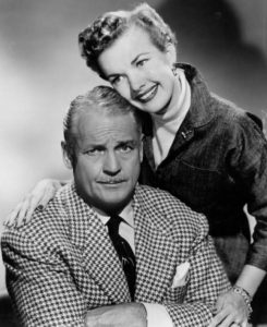 Gale Storm and Charles Farrell in My Little Margie