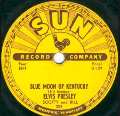 Elvis Presley Blue Moon of Kentucky